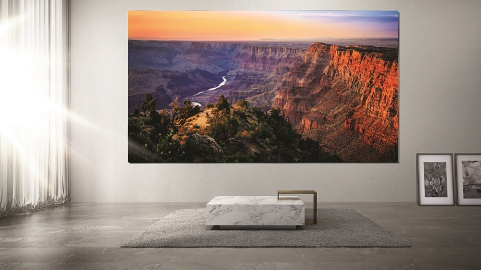Samsung Launches The Wall With 08mm Pixel Pitch Technology