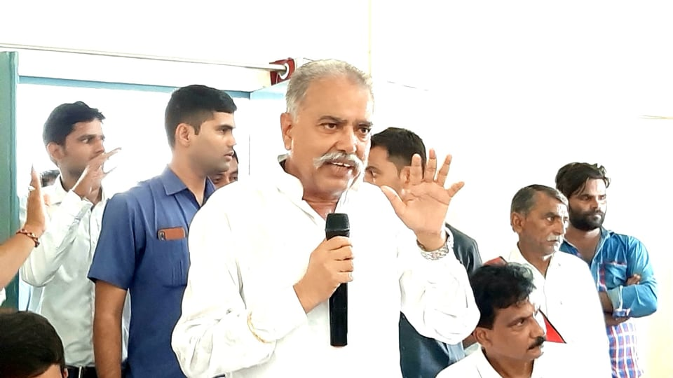 Image result for Lord Ram Could Not Even Guarantee that there Would Be No Crime in the Society: Ranvendra Pratap Singh
