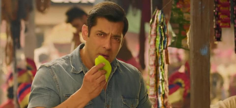 Dabangg 3: Salman Khan in his form as younger Chulbul Pandey.