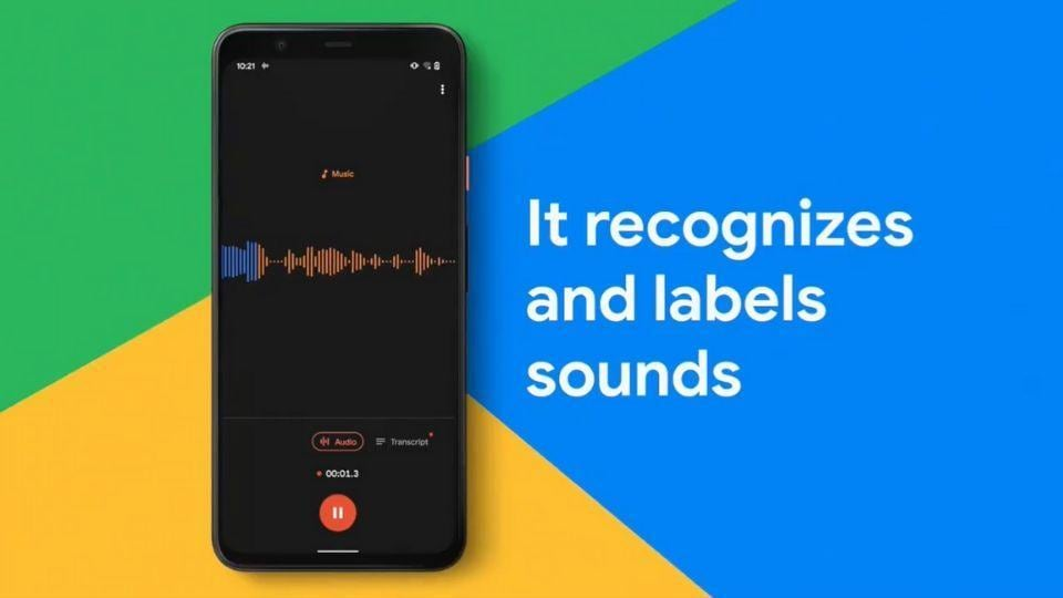 Google Pixel 4s Recorder App With Live Transcribe Now