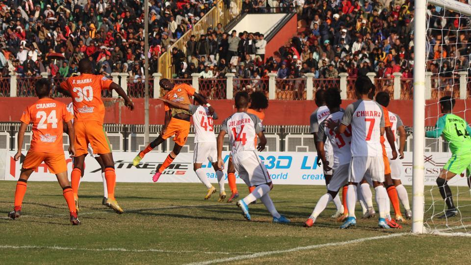 Neroca FC registered their first win of this I-League season.