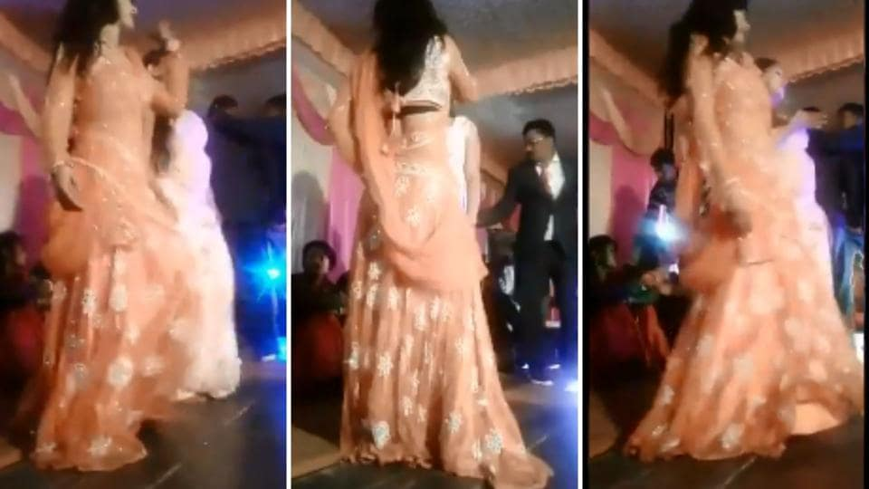 According to reports, the video was shot on December 1 during a performance at the wedding of village head Sudhir Singh Patel's daughter.
