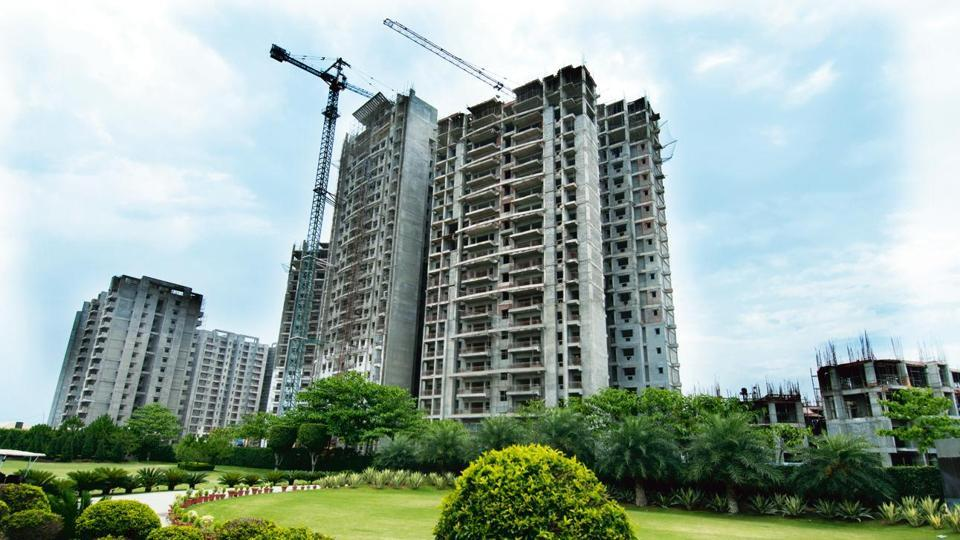 A real estate project in Ghaziabad.