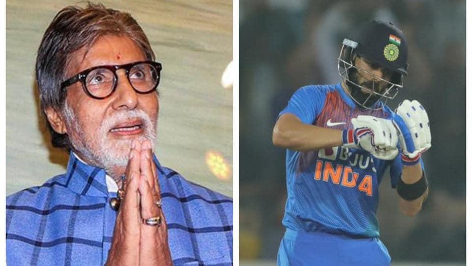 Amitabh Bachchan left in awe of Virat Kohli.