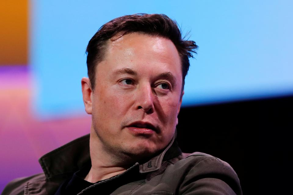 SpaceX owner and Tesla CEO Elon Musk speaks at the E3 gaming convention in Los Angeles in June 2019.