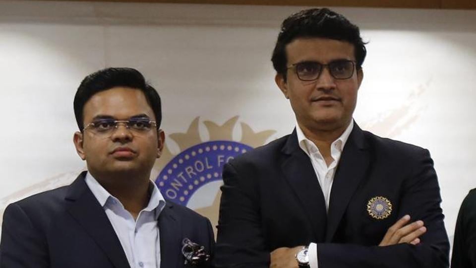 File image of Sourav Ganguly and Jay Shah.