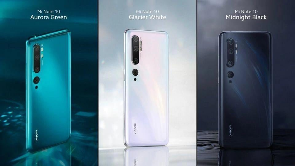 Mi Note 10 is coming to India soon