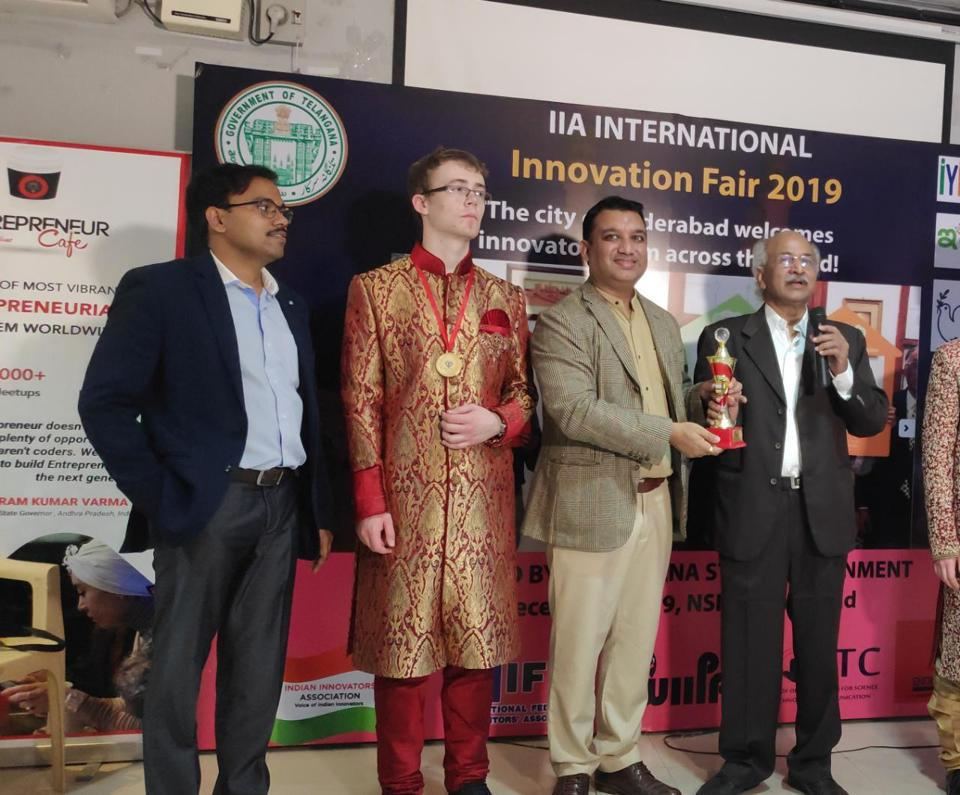The institute bagged the honour at the India International Innovation Fair  organised in Hyderabad recently.