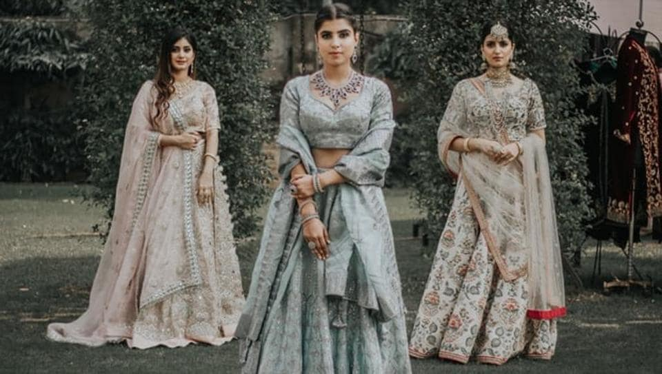 The packed streets of the historic Old Delhi market get a little more crowded with hundreds of brides-to-be from the city and beyond thronging shops to find the right 'lehenga' for their big day.