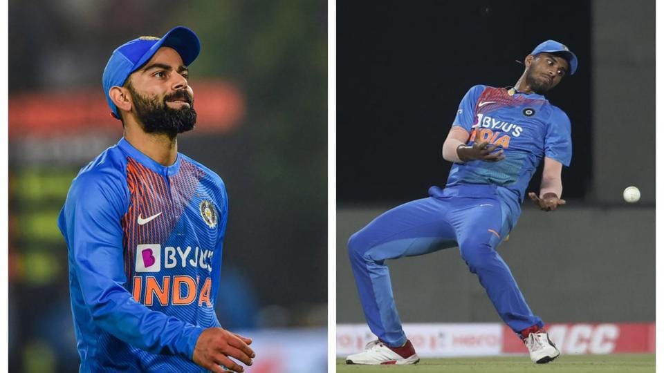 Virat Kohli not bemused by dropped catches in second T20I.