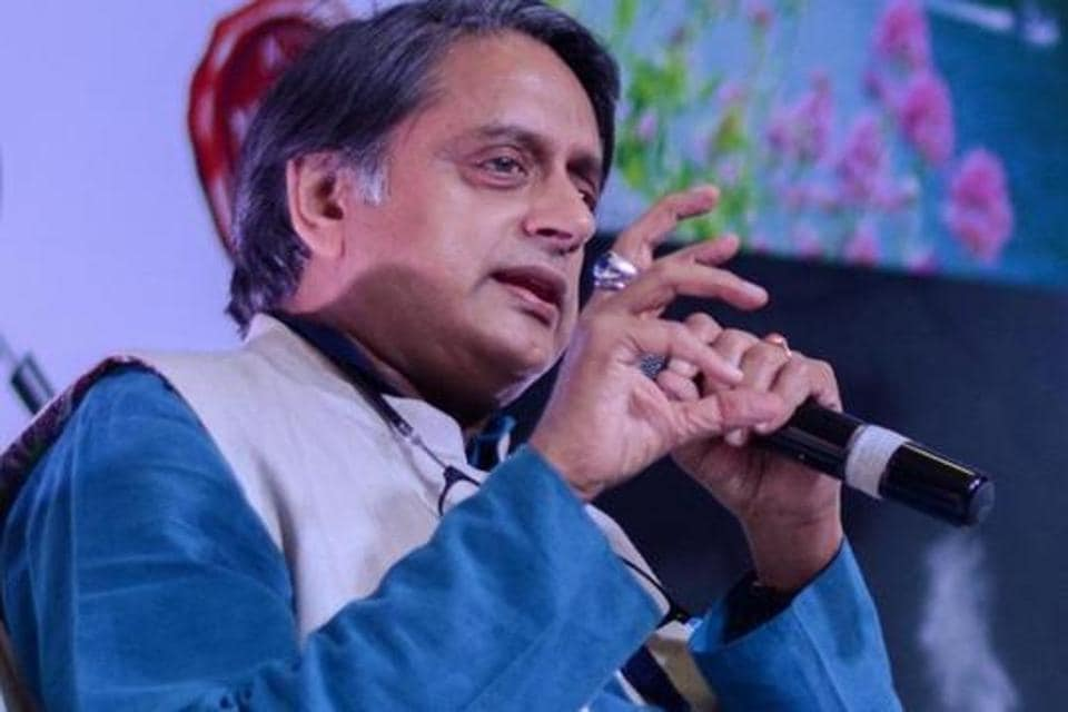 Shashi Tharoor had criticised Swaraj Kaushal's choice of words in one of his tweets.