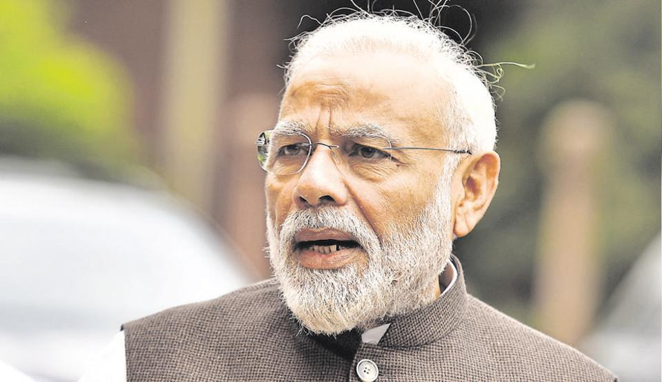 Prime Minister Narendra Modi on Sunday termed the fire incident in Delhi's Anaj Mandi area as extremely horrific.