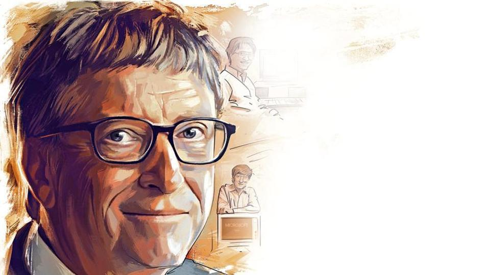 Bill Gates in January 2000 stepped down as Microsoft CEO and over the next few years he gradually transferred his duties to others and started spending more of his time in several philanthropic work and endeavours.