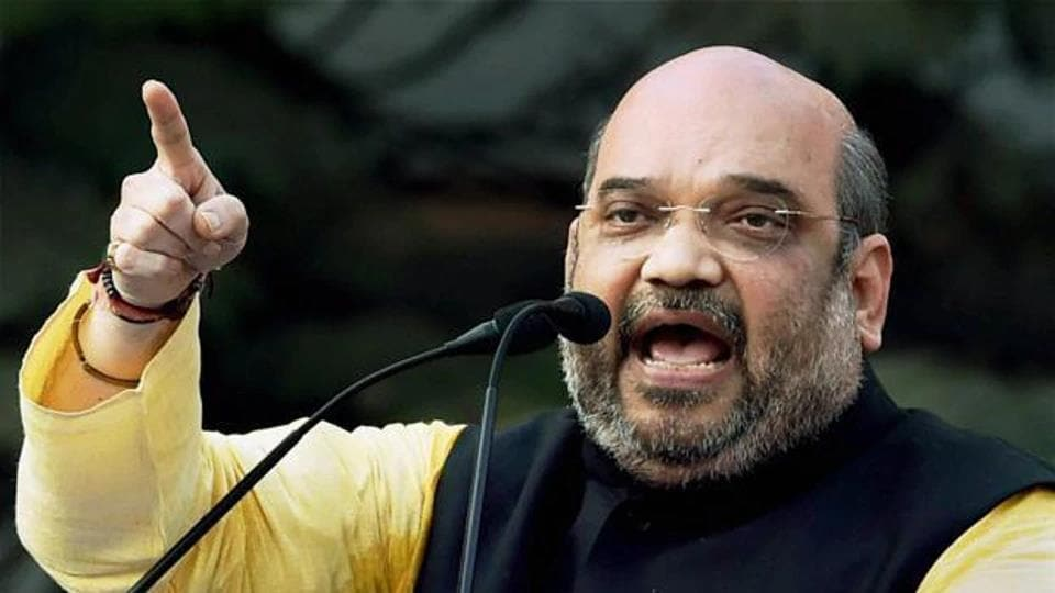 """Shah called the annual conference a """"Vaicharik Kumbh (a fair of ideas)"""" wherein the top policemen of the country come together on one platform and formulate policy decisions pertaining to national security."""