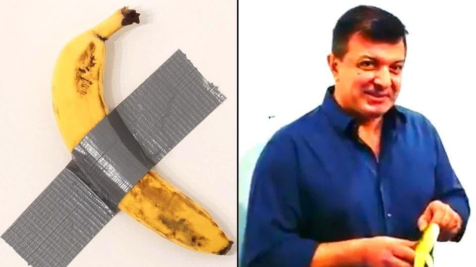 banana at art basel
