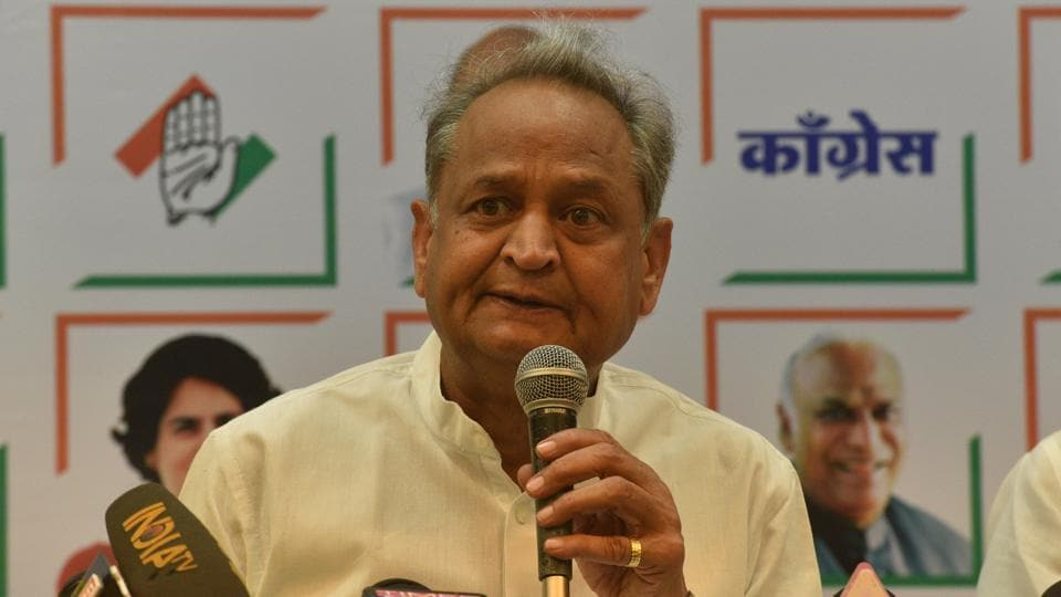 A woman broke down before Rajasthan chief minister Ashok Gehlot while telling him about the harassment she was facing