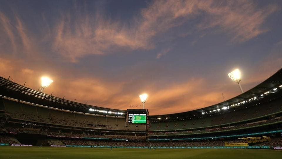 General view of Melbourne Cricket Ground.