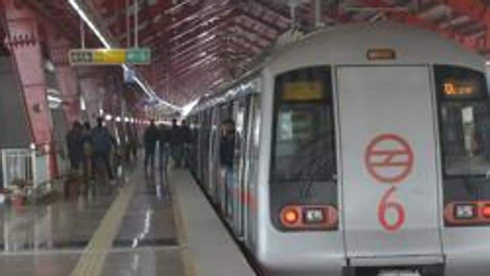 A 26-year-old woman allegedly tried to commit suicide by jumping on to the tracks at Delhi Metro's Rohini West station on Monday morning, delaying trains on the route