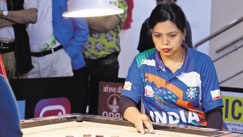Rashmi Kumari's father was a state carrom players and her inspiration to make a career in sport.