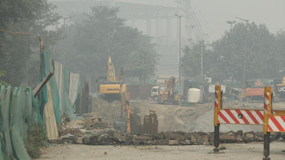 """Partial lifting of construction ban under GRAP, as CPCB informs court that Delhi air is not severe but has improvement to only """"poor""""."""
