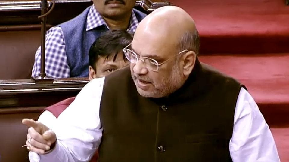 Union Home Minister Amit Shah  will table the Citizenship (Amendment) Bill in the Lok Sabha on Monday, Dec 9, 2019.