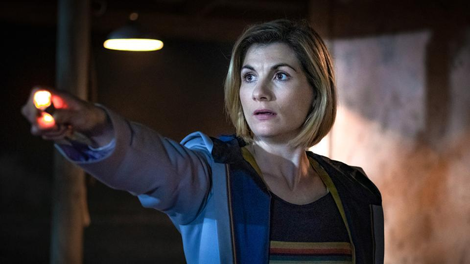 Jodie Whittaker plays the 13th Doctor on Doctor Who.