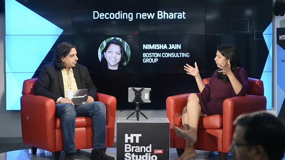 Nimisha Jain of Boston Consulting Group interacts with Rameet Arora of HT in Episode 9 of HT Brand Studio Live, Season 2.