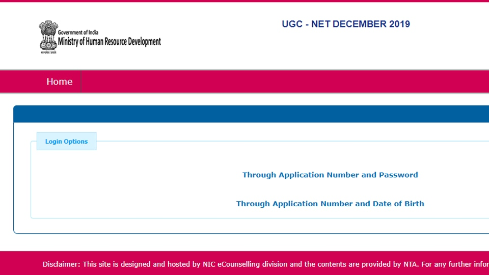 The UGC NET December 2019 examination was held  from December 2 to 6  in which 7,93,813 candidates appeared..