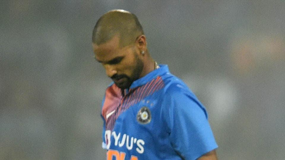 File image of India cricketer Shikhar Dhawan.
