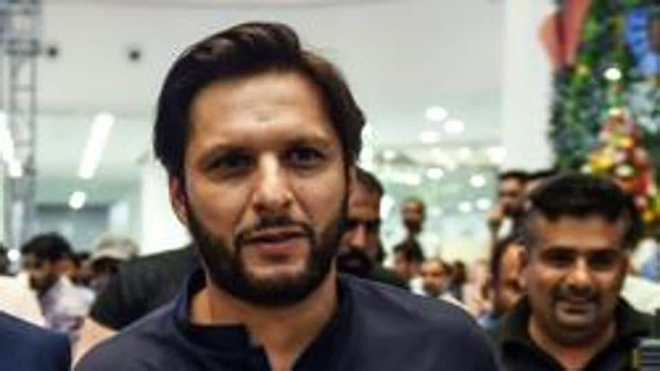 File image of former Pakistan captain Shahid Afridi.