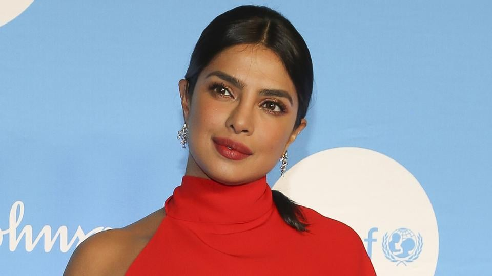 Priyanka Chopra attends the 15th annual UNICEF Snowflake Ball at The Atrium.