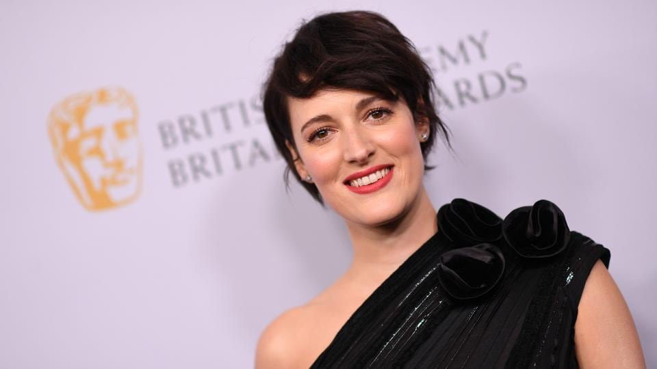 Phoebe Waller-Bridge arrives for the 2019 British Academy Britannia (BAFTA) awards.