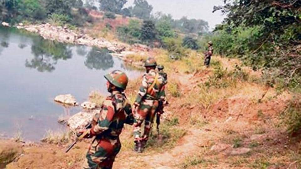 Army officials say the water body was designated to army by the Sagar municipal corporation in 1995.