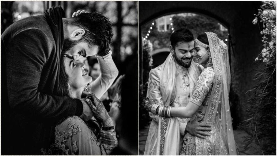 Anushka Sharma and Virat Kohli celebrate 2nd anniversary with wedding pics, messages...