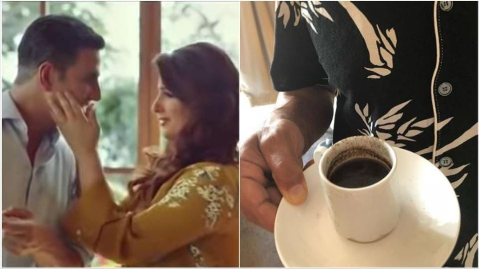 Twinkle Khanna shares pic of Akshay Kumar's failed attempt at making coffee: 'This...