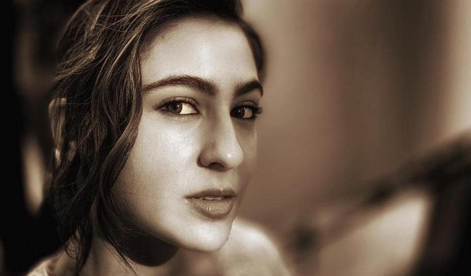 Sara Ali Khan shared pictures of herself gazing sensuously into the camera.