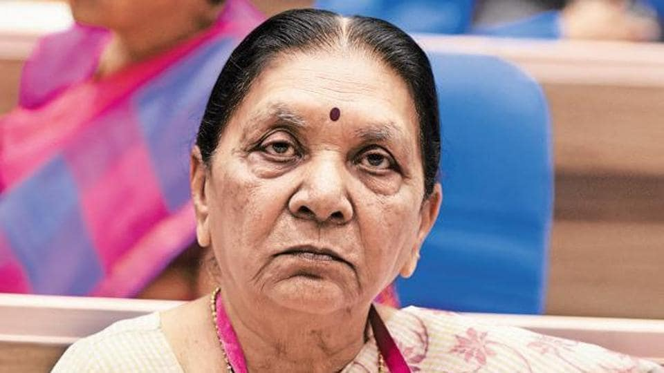 UP Governor Anandiben Patel. (HT file)