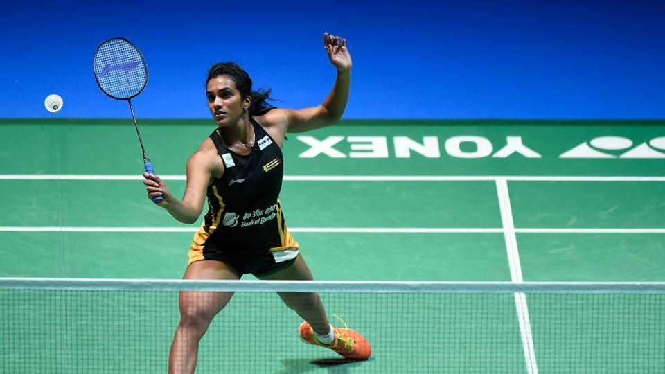 File image of Pusarla V. Sindhu of India.