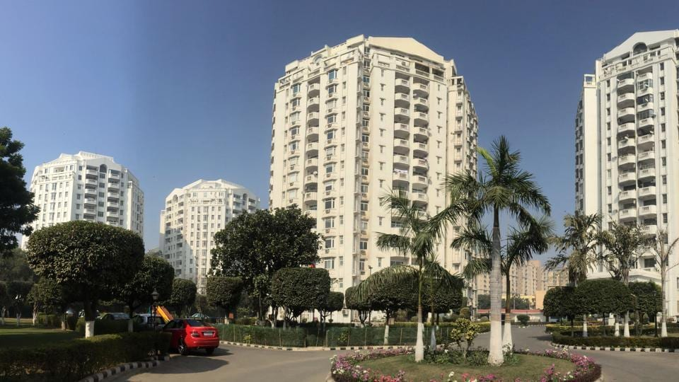 A residential society located on the main Sohna road at sector-47, Gurugram.