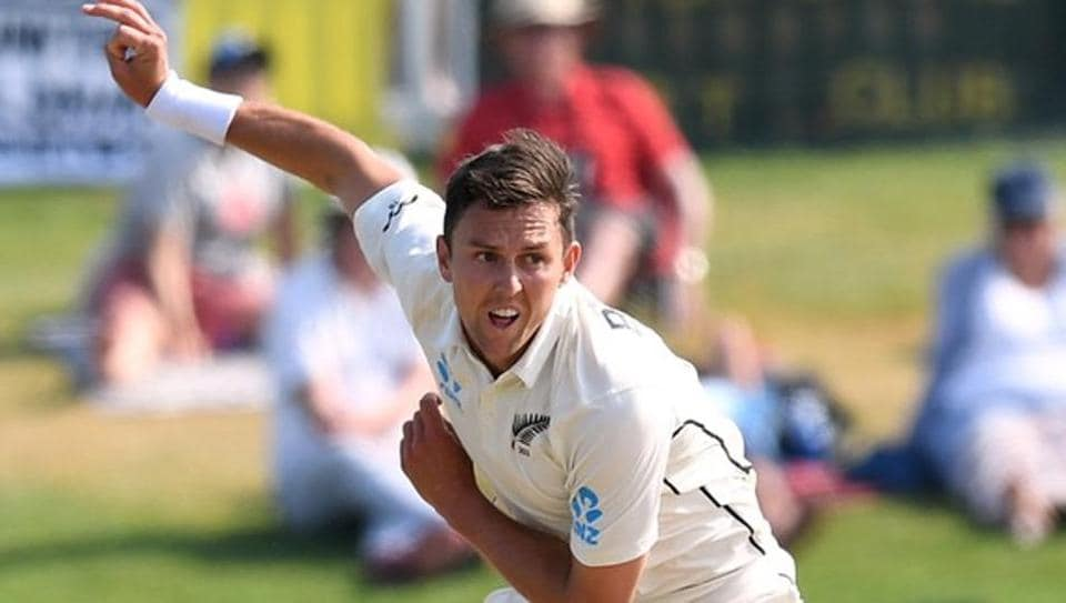 A file photo of New Zealand fast bowler Trent Boult.