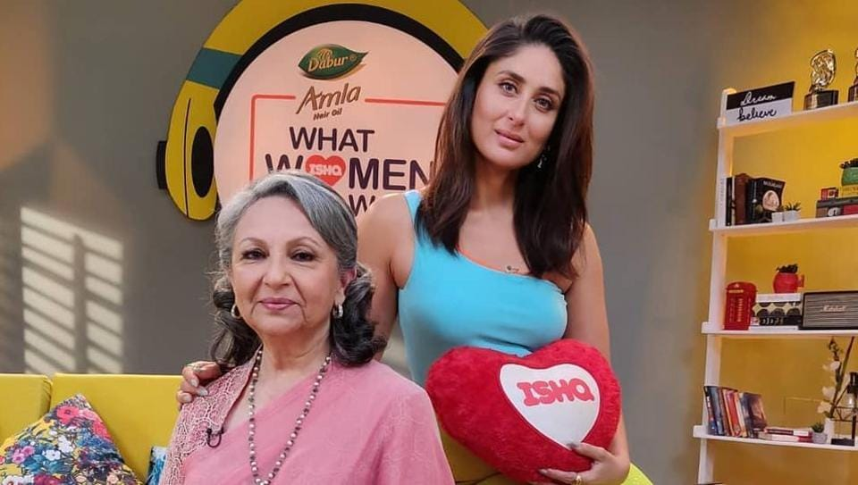 The first episode of Kareena Kapoor Khan's radio show WhatWomen Want features Sharmila Tagore.