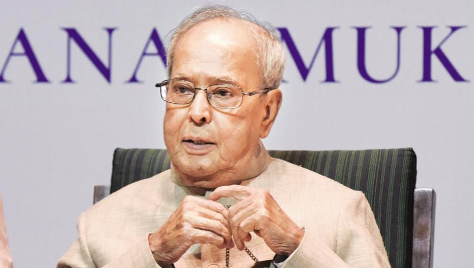 """Former President Pranab Mukherjee said on Wednesday that he was not worried over the economic slowdown as """"certain things"""" that are happening would have its impact."""