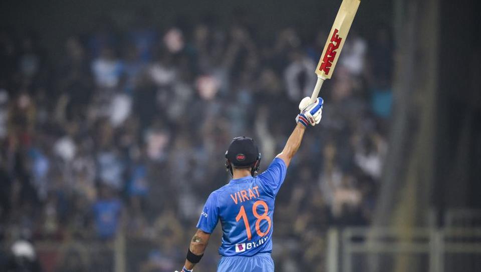 India's Virat Kohli