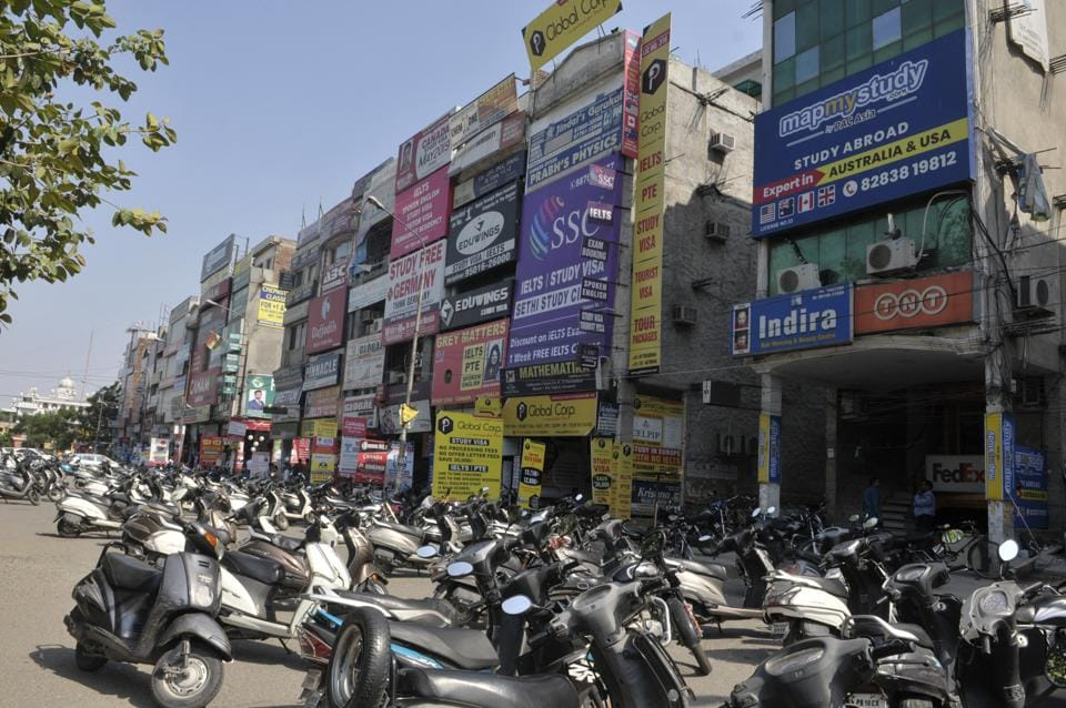 Tuition markets in Model Town Extension and Kitchlu Nagar are sitting on powder keg with inadequate fire-safety measures in place and only a single congested entry and exit point.