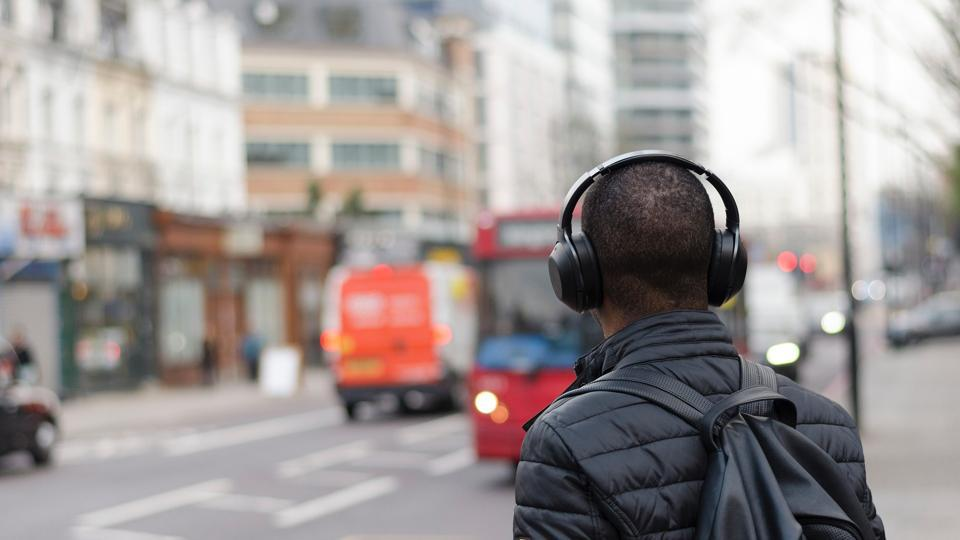 Studies say using headphones is a major cause of road accidents.