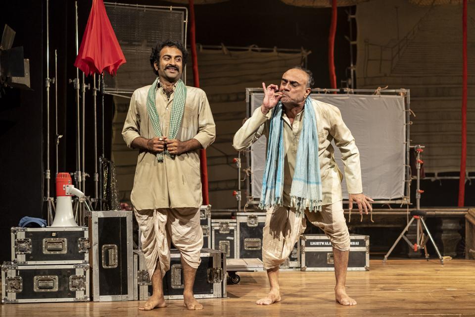 Rajit Kapur (left) and Ajeet Singh Palawat in a still from Mosambi Narangi