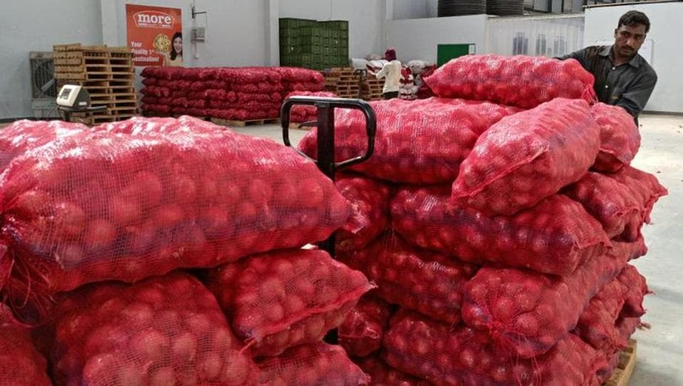With a huge stock of local onions coming into the Lasalgaon market, the rates have dropped considerably, says Agricultural Produce Market Committee official.