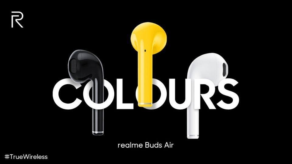 Realme Buds Air launch onDecember 17.