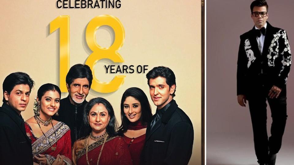 KaranJohar celebrates 18 years of Kabhi Khushi Kabhie Gham, says 'Blessed to have...