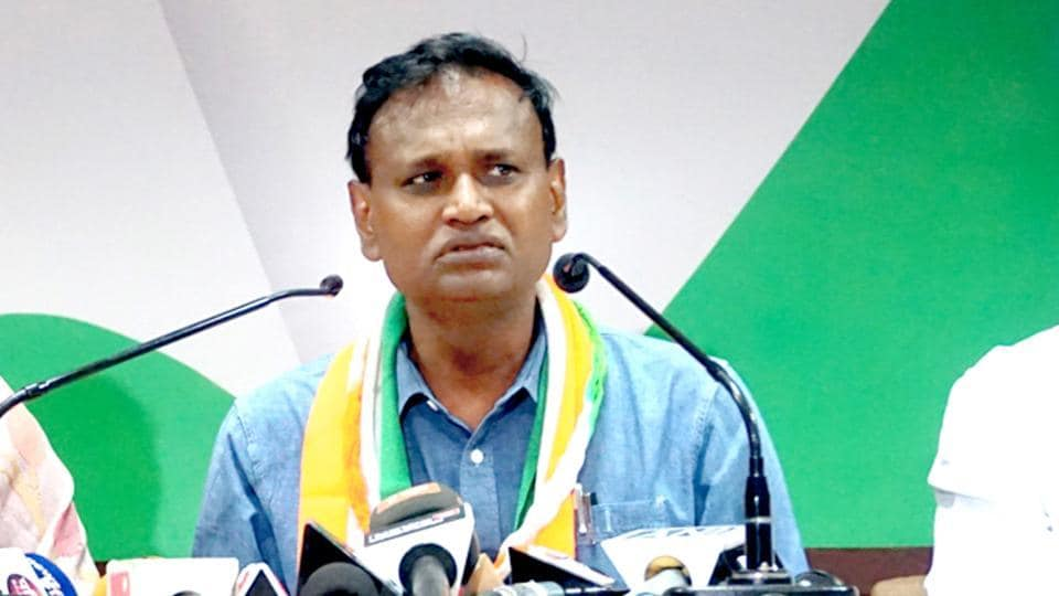 Udit Raj joined the Congress ahead of the 2019 Lok Sabha Elections.